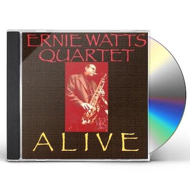Ernie Watts ALIVE CD
