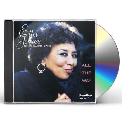 Etta Jones ALL THE WAY CD