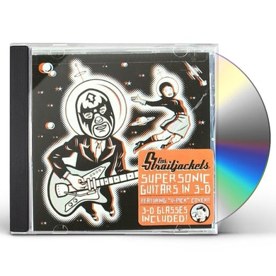 Los Straitjackets SUPERSONIC GUITARS IN 3-D CD