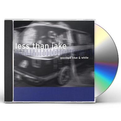 Less Than Jake GOODBYE BLUE & WHITE CD