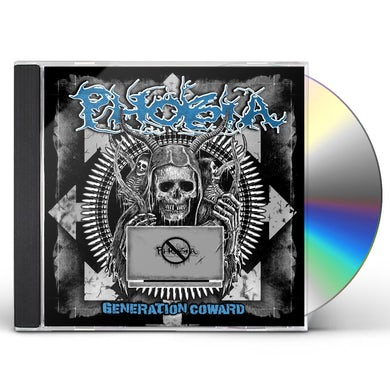 Phobia Generation Coward CD