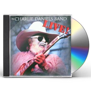 Charlie Daniels LIVE RECORD CD