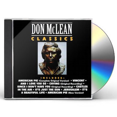 Don Mclean CLASSICS CD
