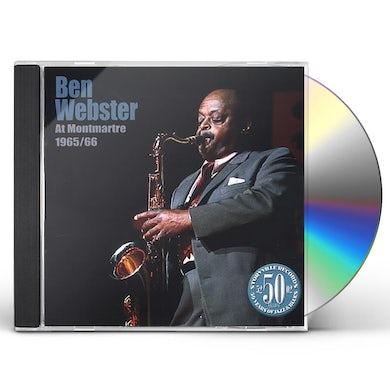 Ben Webster AT THE MONTMARTRE 1965-66 CD