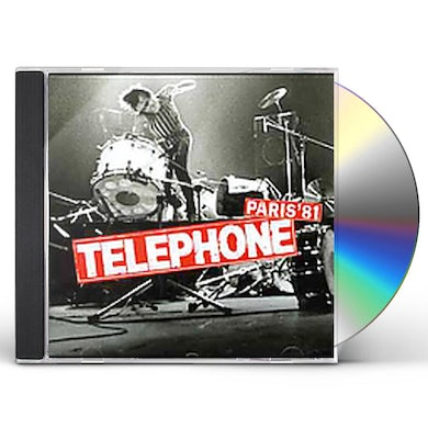 Telephone LIVE 1981 CD