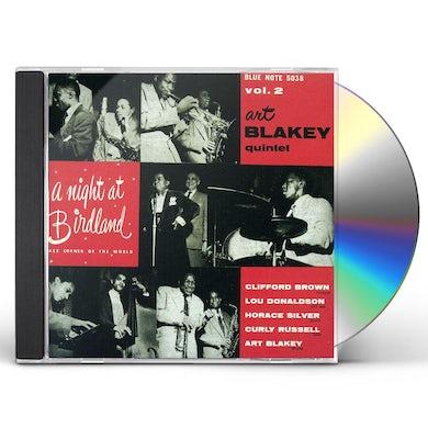 Art Blakey NIGHT AT BIRDLAND 2 CD