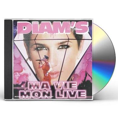 Diam's MA VIE / MON LIVE CD