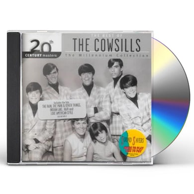 Cowsills 20TH CENTURY MASTERS: MILLENNIUM COLLECTION CD