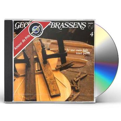 Georges Brassens JE ME SUIS FAIT TOUT PETIT (VOL4) CD
