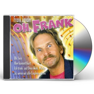 Frank Zander OH FRANK CD