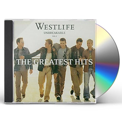 Westlife UNBREAKABLE 1: GREATEST HITS CD