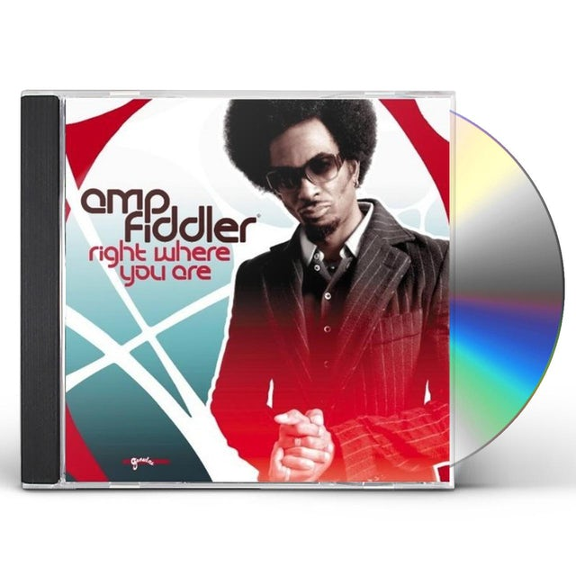 Amp Fiddler RIGHT WHERE YOU ARE CD