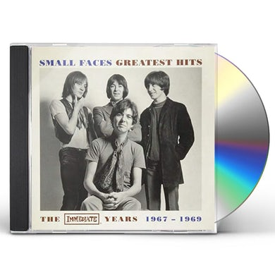 Small Faces GREATEST HITS: IMMEDIATE YEARS 1967-1969 CD