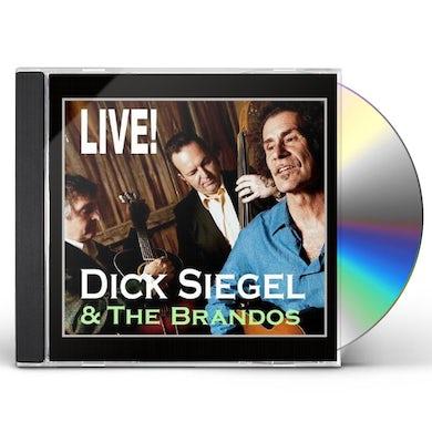 Dick Siegel THE BRANDOS LIVE! CD