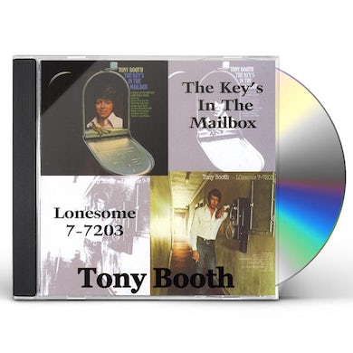 Tony Booth KEYS IN THE MAILBOX/LONESOME 7-7203 CD