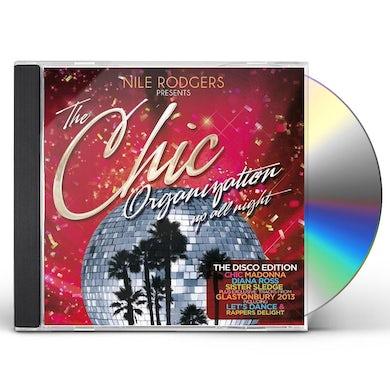 CHIC ORGANIZATION: UP ALL NIGHT DISCO EDITION CD