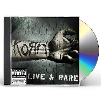 KoRn LIVE & RARE CD