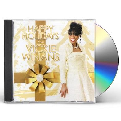 Vickie Winans HAPPY HOLIDAYS CD