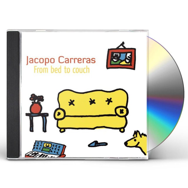 Jacopo Carreras FROM BED TO COUCH CD
