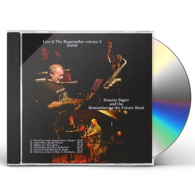 Stanley Sagov LIVE REGATTABAR 3-2009 2 CD
