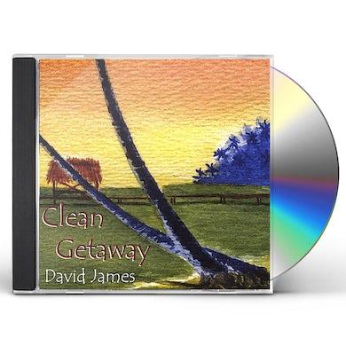 David James CLEAN GETAWAY CD