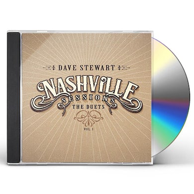 Dave Stewart NASHVILLE SESSIONS 1: THE DUETS CD