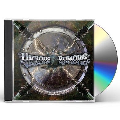 Vicious Rumors ELECTRIC PUNISHMENT CD