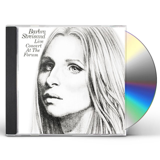 Barbra Streisand LIVE CONCERT AT THE FORUM CD