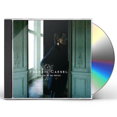 Francis Cabrel DES ROSES & DES ORTIES CD