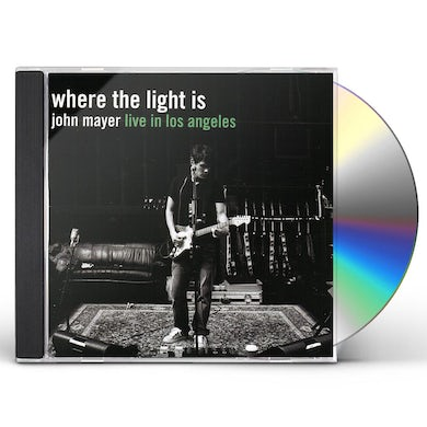 John Mayer WHERE THE LIGHT IS: LIVE CD