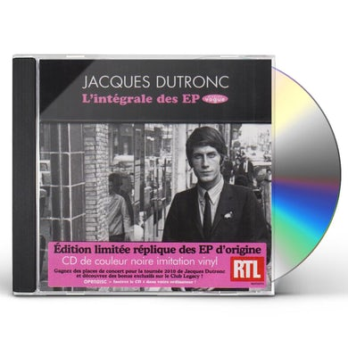 Jacques Dutronc LINTEGRALE DES EP VOGUE CD