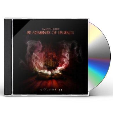 Valentin Wiest FRAGMENTS OF LEGENDS-VOLUME II CD