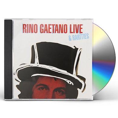 Rino Gaetano LIVE & RARITIES CD