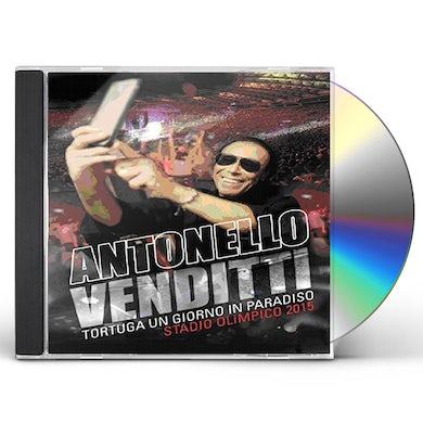 Antonello Venditti TORTUGA UN GIORNO IN PARADISO STADIO OLI CD