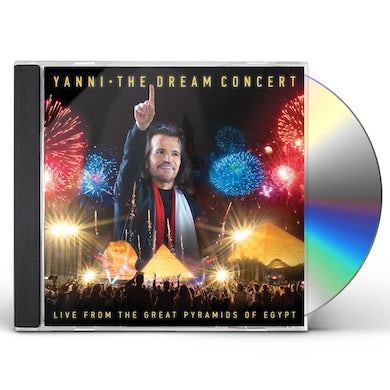 Yanni DREAM CONCERT: LIVE FROM GREAT PYRAMIDS OF EGYPT CD