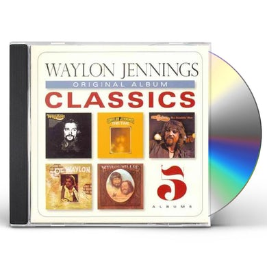 Waylon Jennings ORIGINAL ALBUM CLASSICS CD