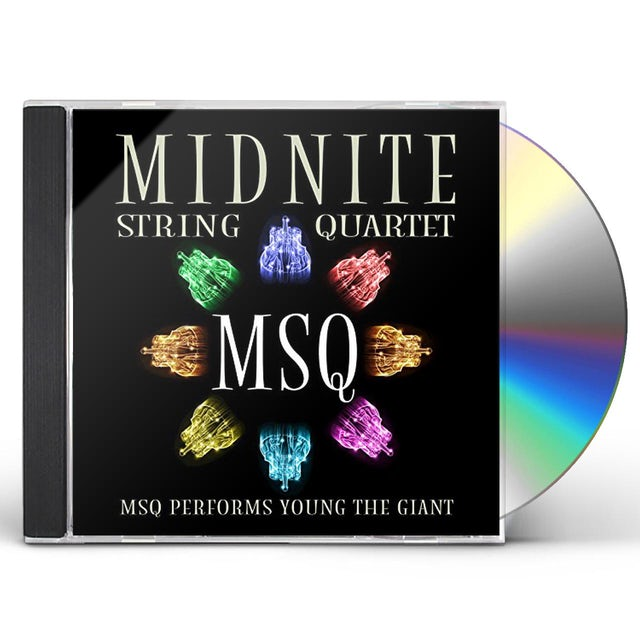 Midnite String Quartet MSQ PERFORMS YOUNG THE GIANT (MOD) CD