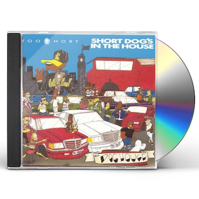 Too $hort Short Dog's in the House CD