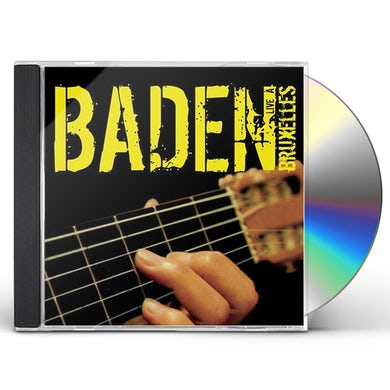 Baden Powell BADEN LIVE A BRUXELLES CD