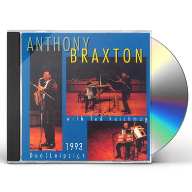 Anthony Braxton BRAXTON AT THE LEIPZIG GEWANDHAUS CD