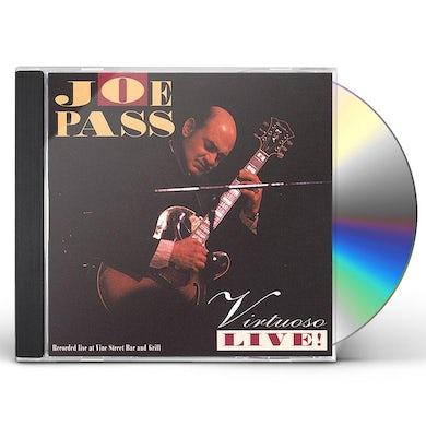 Joe Pass VIRTUOSO LIVE CD