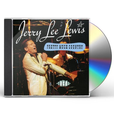 Jerry Lee Lewis PRETTY MUCH COUNTRY CD