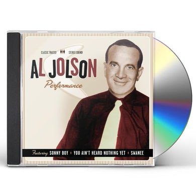 Al Jolson PERFORMANCE 1932-1949 CD
