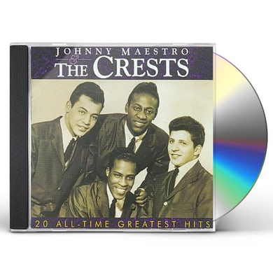 Johnny Maestro & The Crests - 20 All-Time Greatest Hits CD