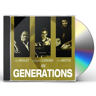 Fred Wesley GENERATIONS CD