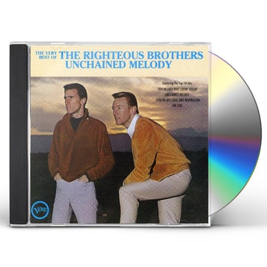 Righteous Brothers VERY BEST OF: UNCHAINED MELODY CD