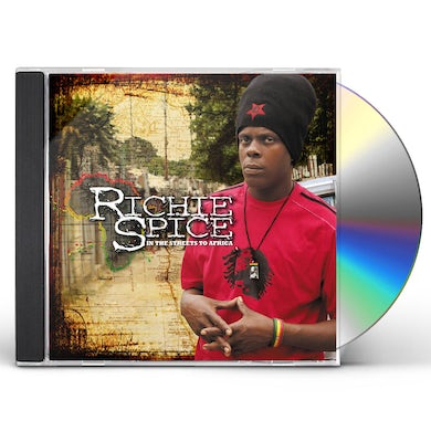 Richie Spice IN THE STREETS TO AFRICA CD