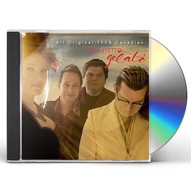 Quartetto Gelato ALL ORIGINAL 100% CANADIAN CD