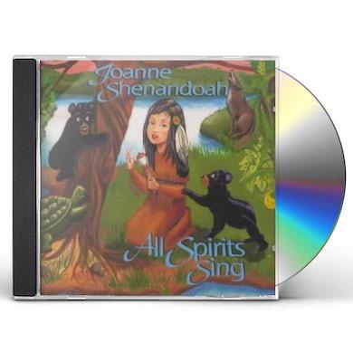Joanne Shenandoah All Spirits Sing CD