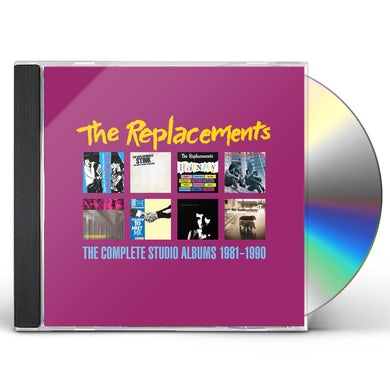 The Replacements COMPLETE STUDIO ALBUMS 1981-1990 CD